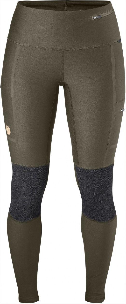 Teknisk og slitesterk tights i et svært funksjonelt materiale med stretch. Den kombinerer bevegelsesfriheten til en tights og slitestyrken til et par fjellbukser; forsterkninger over baken og knærne tåler nærkontakt med skarpe steiner, og motstår også fuk