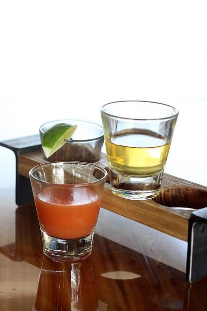 tequila flights we designed + built thru customatic.com for the barbacoa restaurant