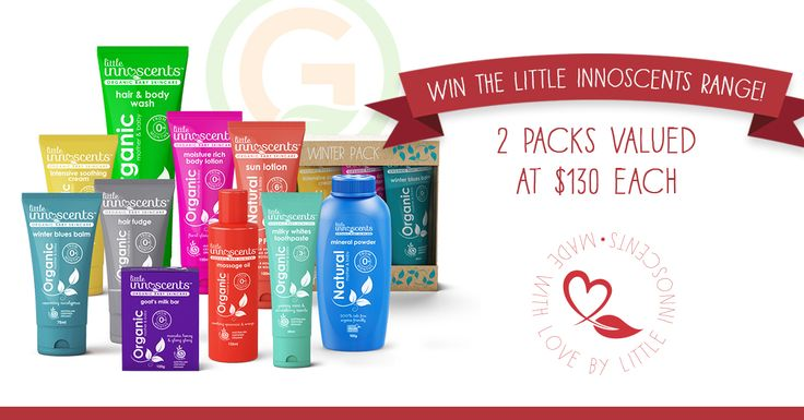 Little Innoscents Organic Baby Skincare