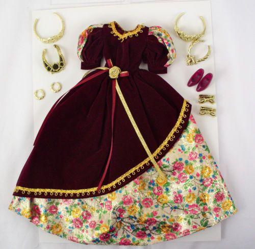 Barbie Burgundy Gown Wholesale Club Exclusive 2001 Costco Canada | eBay
