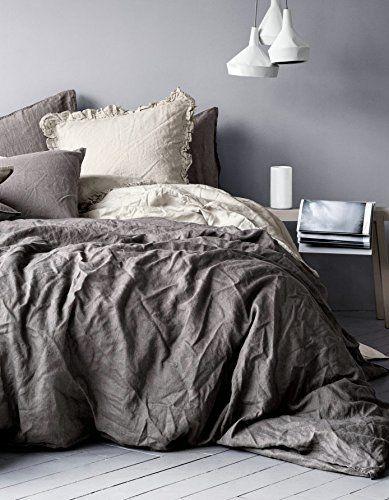 Pure Linen Duvet Quilt Cover 2pc set Twin Single Genuine 100% Linen French Country Old Fashion Charcoal Gray Duvet Cover Set http://www.amazon.com/dp/B00SS3JNEK/ref=cm_sw_r_pi_dp_Uzu0ub1D42RAS