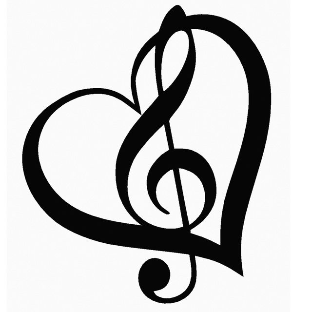 Resultado De Imagen De Dibujos De Clave De Sol Tatuajes De Nota De Musica Notas Musicales Dibujos Imagenes De Notas Musicales