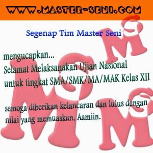 MENGUNGKAP RAHASIA SOAL UJIAN SENI RUPA ITB: Selamat Melaksanakan UN untuk Tingkat SMA/SMK/MA/M...