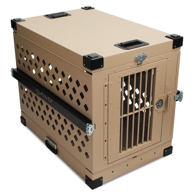Heavy Duty Dog Crate - Collapsible - Escape Resistant Design