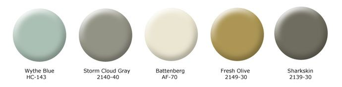 Benjamin Moore's Earth & Sky Collection