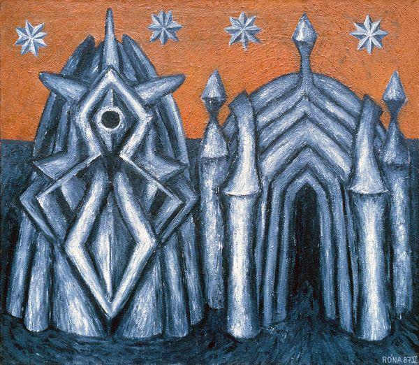 Dva chrámy a čtyři hvězdy; Jaroslav Róna
