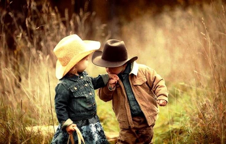 cowboy und cowgirl
