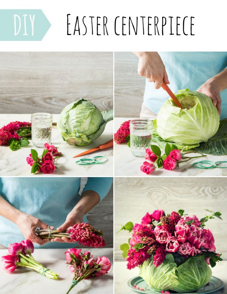 This centerpiece is the easy way to arrange your Easter table! Mix-and-match the ideas for your Easter table display, all the guests at your party will appreciate it. Everything you need here: http://amoretti.co.uk/diy-easter-centerpiece/