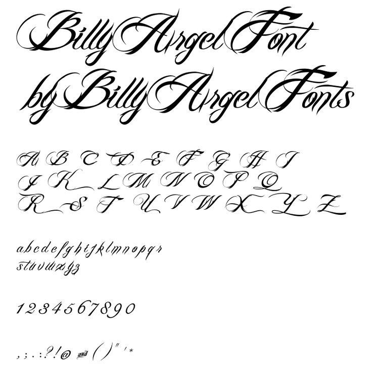 billy argel font pics fonts