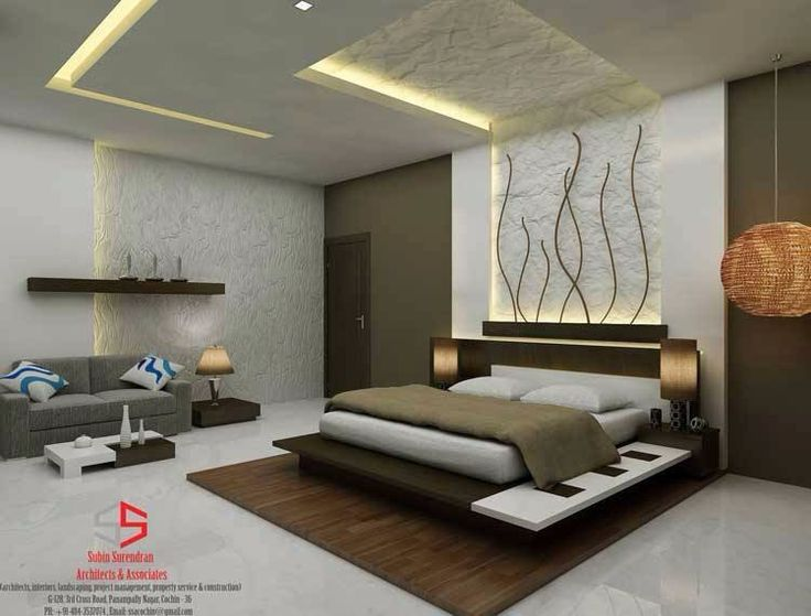 Bedroom conceptual design by ssA&A