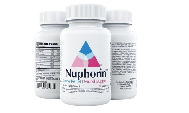 Nuphorin Anxiety Relief #1 Fast-Acting Anxiety Supplement for Anxiety Stress #Nuphorin