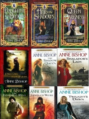 Anne Bishop's Black Jewels series... M beloved and I read these together. Great world building & writing. I even named my puppy after one of the kindred pups in the series (and I would be proud if he lived up to his name)!