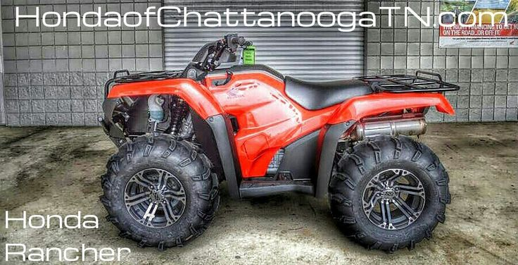 Honda Rancher 420 ATV Sale at Honda of Chattanooga. TN / GA / AL area Honda PowerSports Dealer offering Discount prices since 1962!  Check out our wholesale Honda ATV / Four Wheeler Prices at www.HondaofChattanoogaTN.com