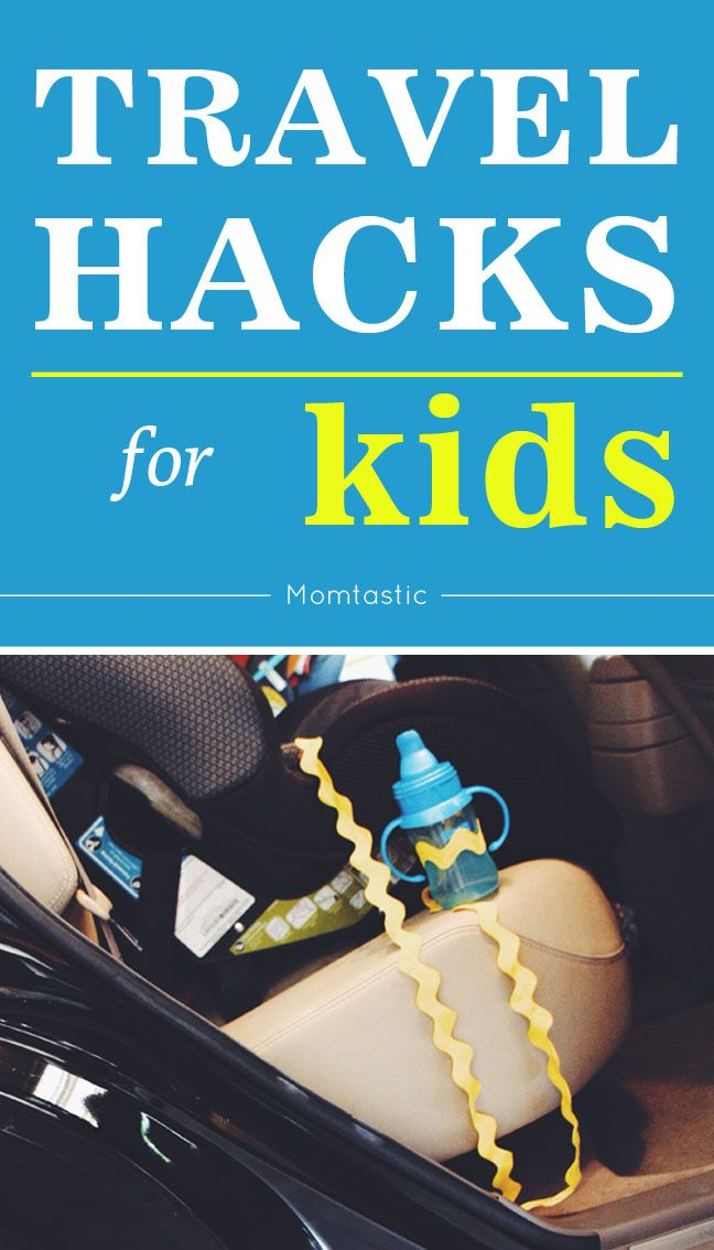 You've got to be prepared for a whole new world of travel scenarios once kids come into the picture. Be bold, and adventure onward! Here's a roundup of a few of my favorite travel hacks for kids that make things on the road or on a trip a whole lot easier.