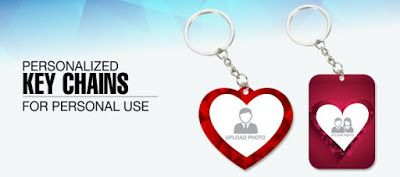 Print Shop, Printing services - Buy Personalized Corporate Gifts and Business Products in India: Personalized Key Chains To keep It Forever