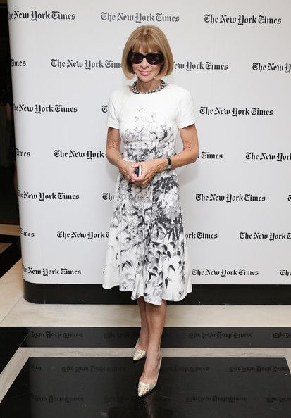 Anna Wintour Photos: New York Times Welcome Party