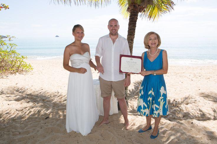Clifton Beach elopement from UK