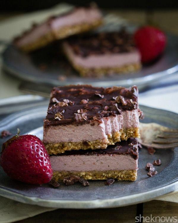 Strawberry Cream Bars