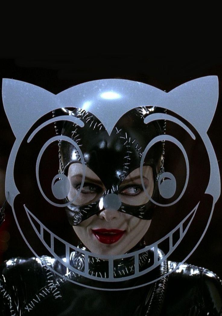 Michelle Pfeiffer as Catwoman, Batman Returns (1992). Meow