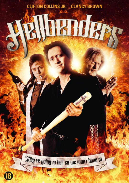 Hellbenders (2012)  Dir. J. T. Petty   Clifton Dollins Jr., Clancy Brown, Andre Royo