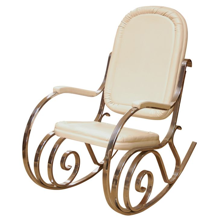 Maison Jansen Chrome Rocking Chair....NEEEED THIS FOR MY NURSERY. Cant find it anywhere in Canada