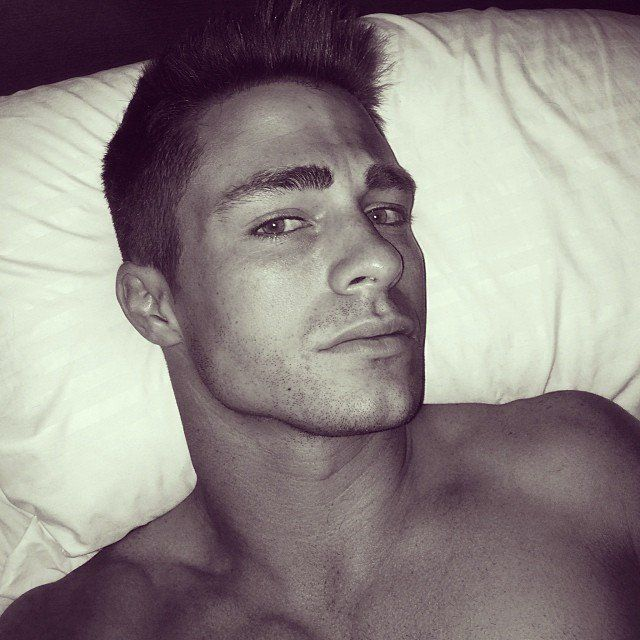 Pin for Later: 28 Instances in Which Colton Haynes's Beauty Was Borderline Painful This Woke-Up-Like-This Moment