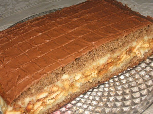 Cake «Snickers»