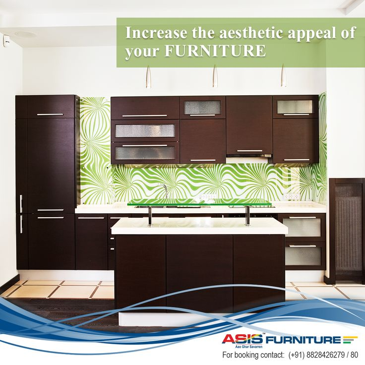 Thinking of ways to increase the aesthetic appeal of your furniture? Paste the ASIS Group decorative laminates on  your furniture and watch its appeal increase manifold! Shop  now at  http://bit.ly/20YY3lS