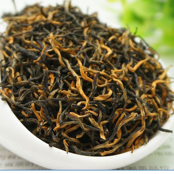 Черный чай 250 г Происхождения premium и органическая уи jinjunmei черный чай, чистый натуральный Супер и снижение артериального давления детокс чай