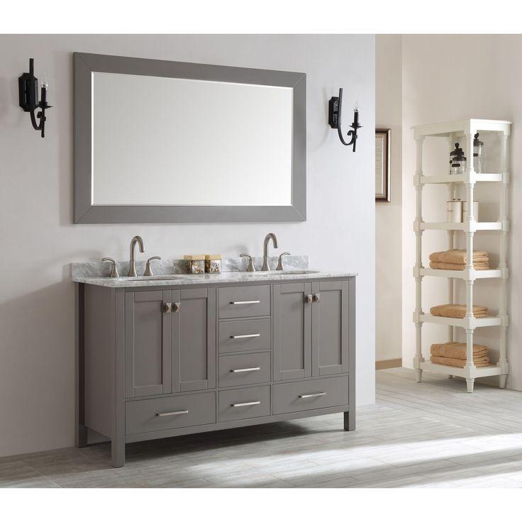 1000 Ideas About Grey White Bathrooms On Pinterest: 1000+ Ideas About Grey Bathroom Vanity On Pinterest
