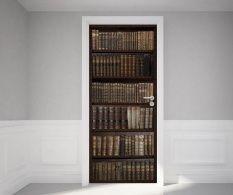 Samolepka na dveře Books