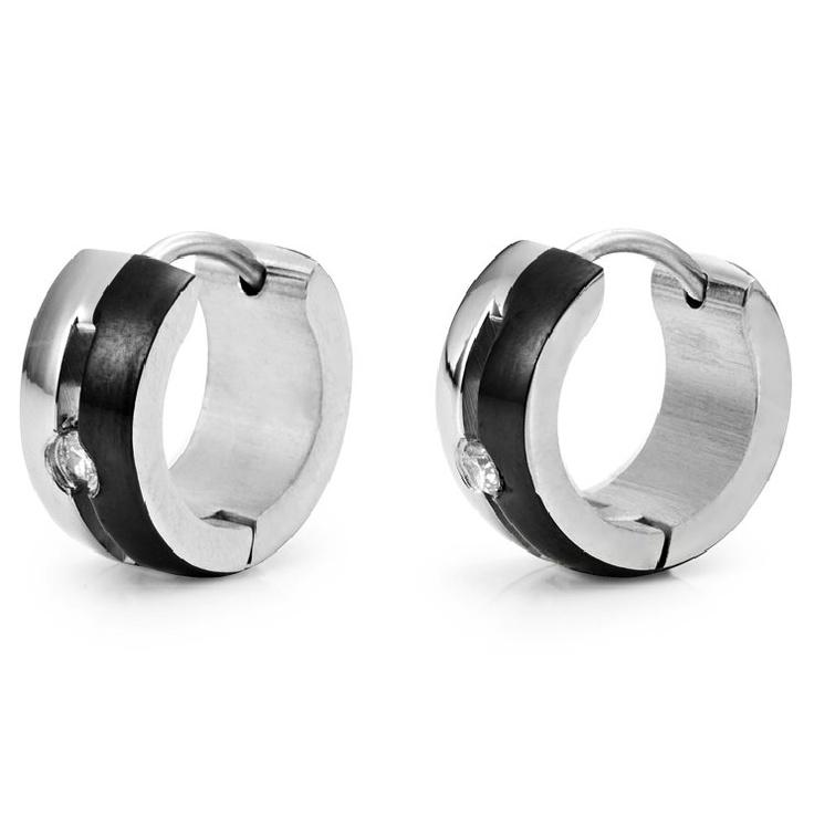 earring for men black - photo #45