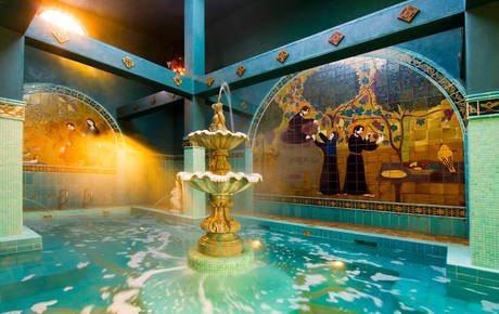 Mcmenamins soaking pool is a must.  A warm soak in soft non-chlorinated salt water for $5 a person.  The open ceiling is amazing for star gazing or having big fluffy snowflakes drizzling down into the pool.  Hit this spot after the Mcmenamins dinner and movie for an amazing date!