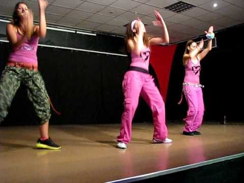 ZUMBA SHAKE IT UP- Zumba with Rotem in Israel - YouTube