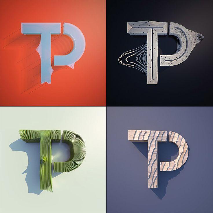 Logo explorations - twistedpoly