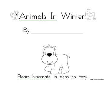Hibernation Animals In Winter Super Pack Poems Books