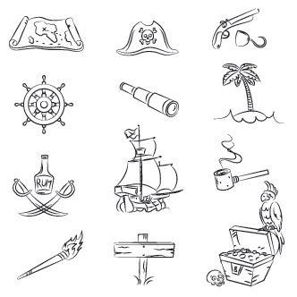 Dibujos piratas