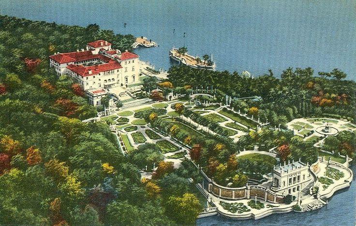Eye For Design: Vizcaya.....James Deering's Florida Villa