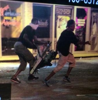 It's 3:45 a.m. in Ferguson: Time for looters to steal an electric saw and hair weaves! [photos] Posted at 4:44 am on August 16, 2014 by Twitchy Staff