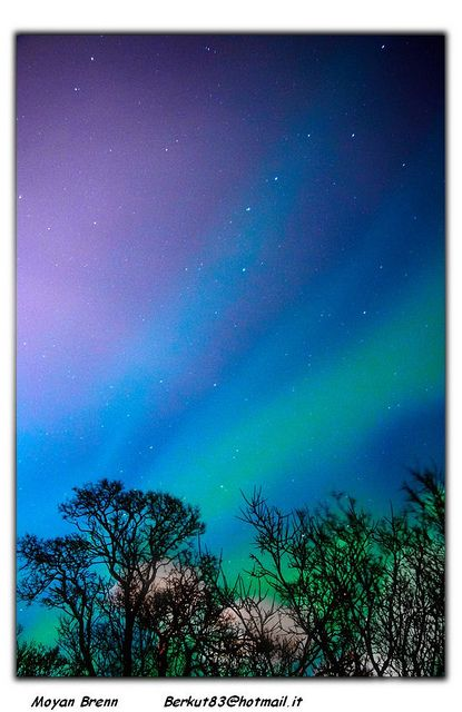 ✯ Northern lights seen from the beach of Tromso - Norway