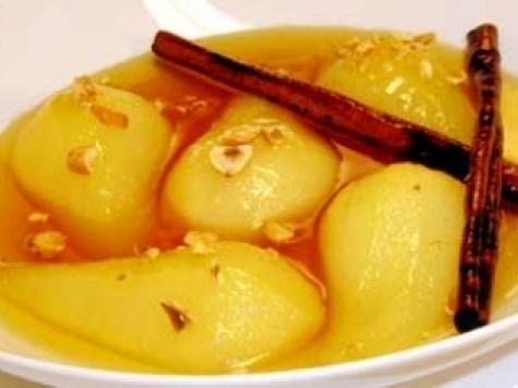 Recipes - Desserts - Hazelnut Roasted Pears by Anna Olsen - Kraft First Taste Canada