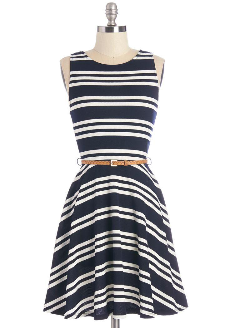 All Bands on Deck Dress | Mod Retro Vintage Dresses | ModCloth.com
