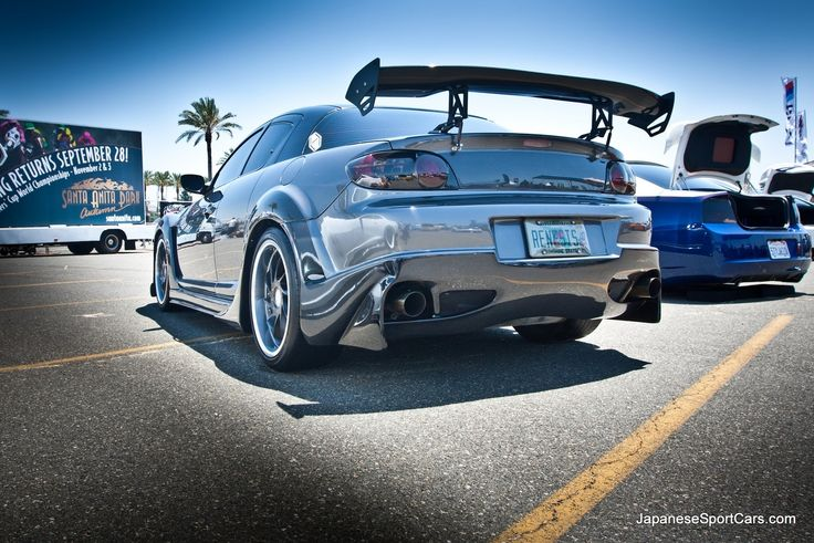 2004 Tuned Mazda RX8 with Veilside Carbon Fiber Wide Body Kit and ACE Wheels, this in black would be amazing!!