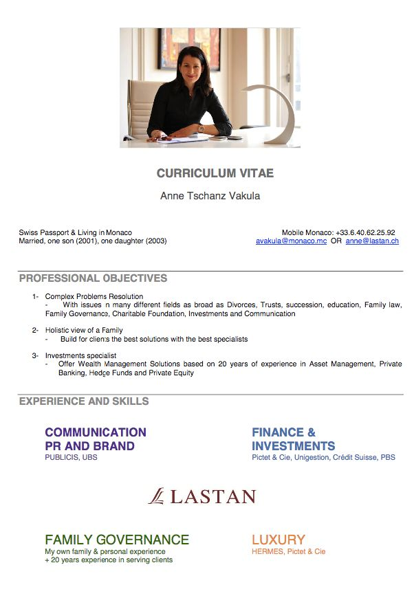 Graduate architect CV sample - Dayjob