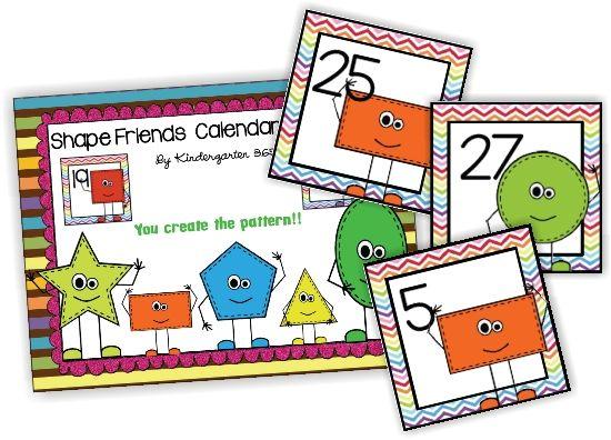 April Calendar Pieces Kindergarten : Best images about calendar numbers on pinterest