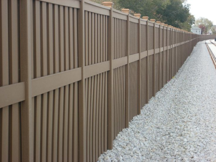 17 best images about fence heights trex on pinterest for Cheap tall privacy fence