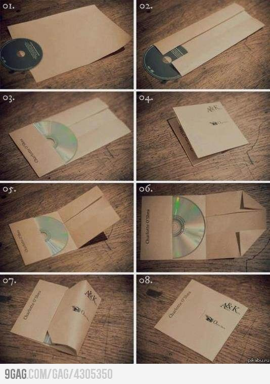 How to...make a cd/dvd sleeve.