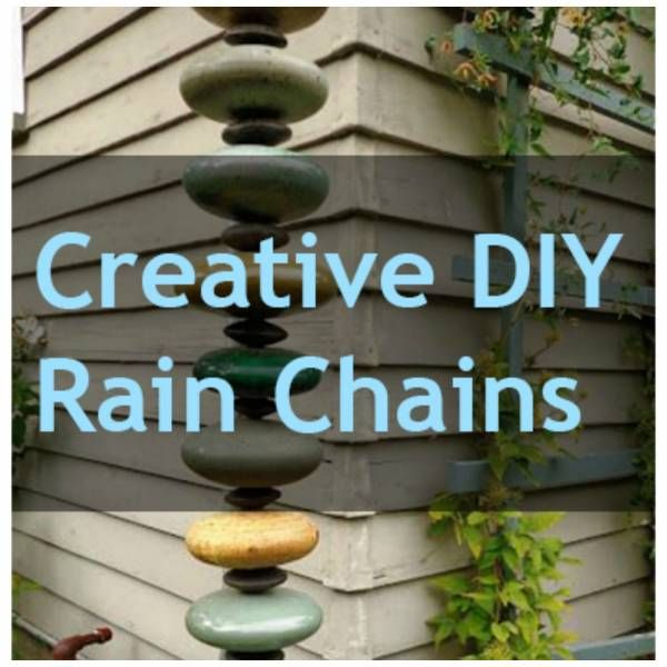 Rain Chains You Can DIY That Are Not Just A Simple Chain