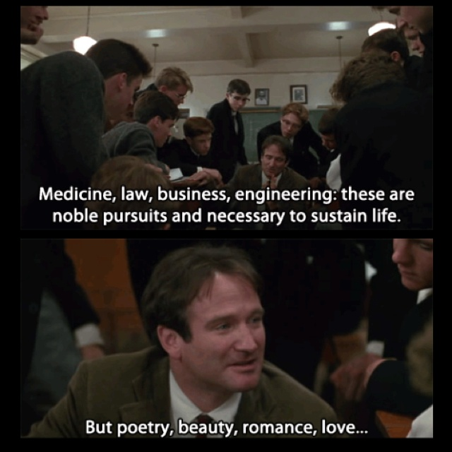Essays on the dead poets society