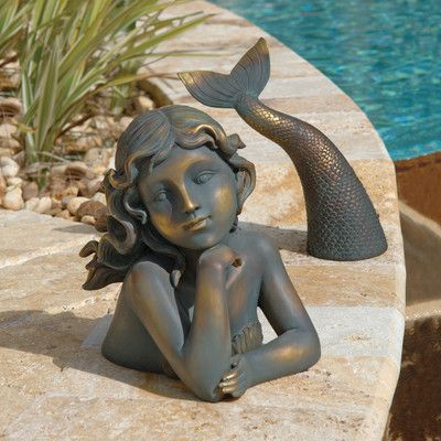 Design Toscano Merissa Siren of The Sea Mermaid Statue